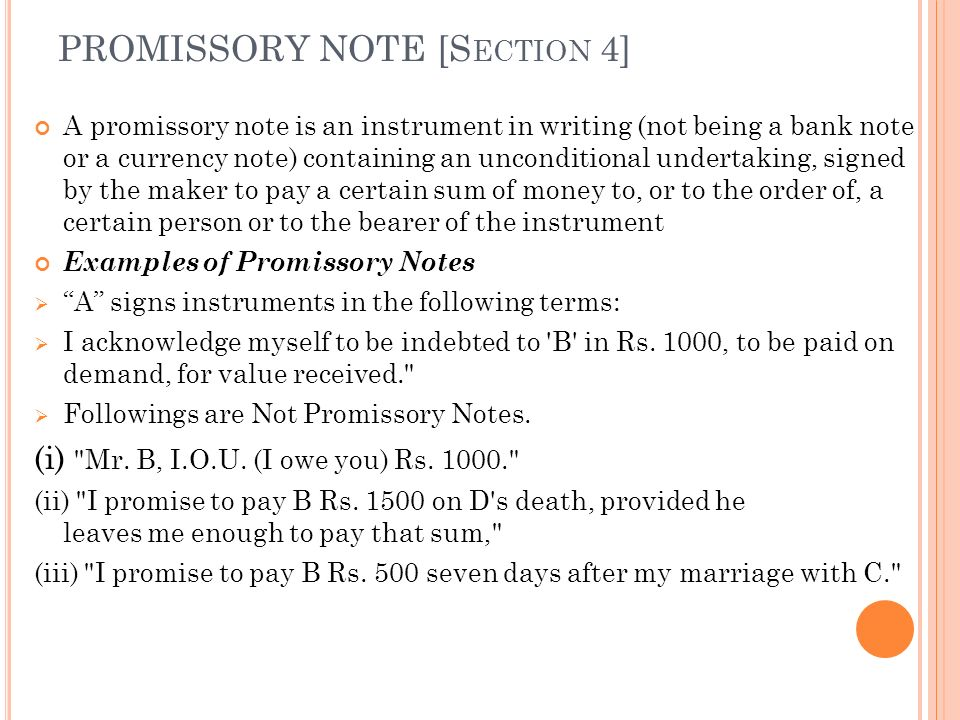 Draft Of Promissory Note. Printable Sample Simple Promissory Note